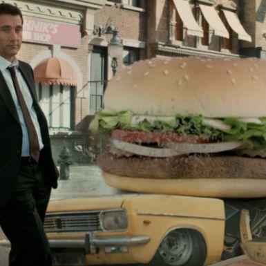 El sabor está aquí para Burger King