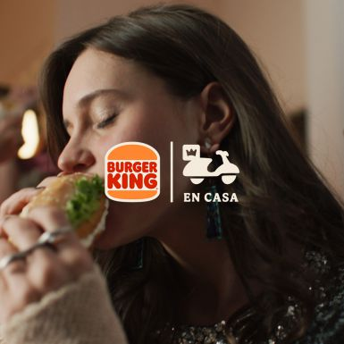 Burger King en casa para Burger King